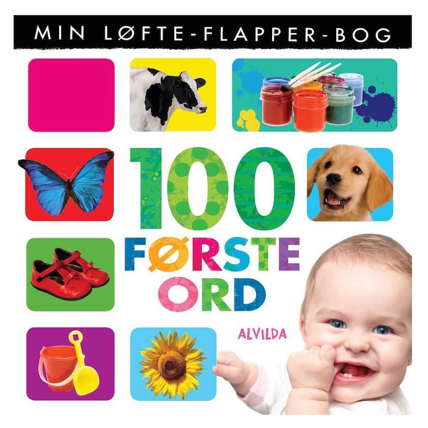 100 første ord bog