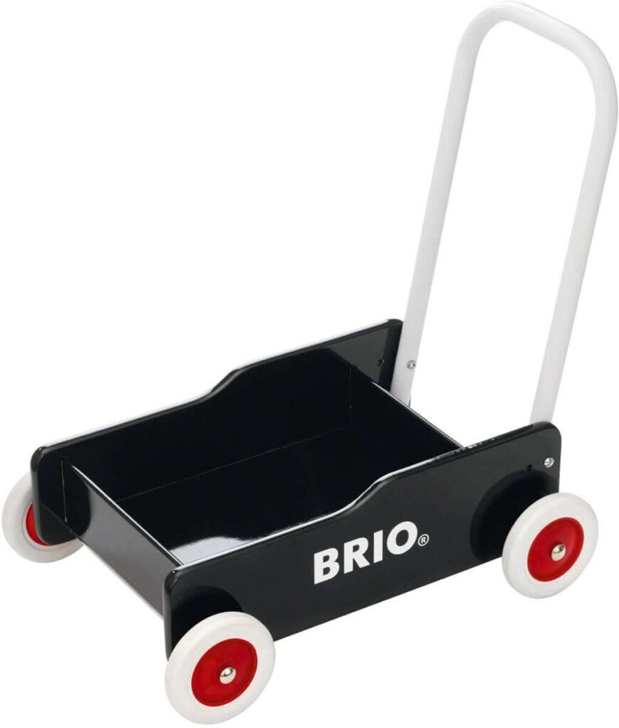 BRIO gåvogn i sort