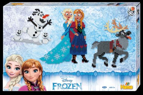 Hama perler Disney Frozen