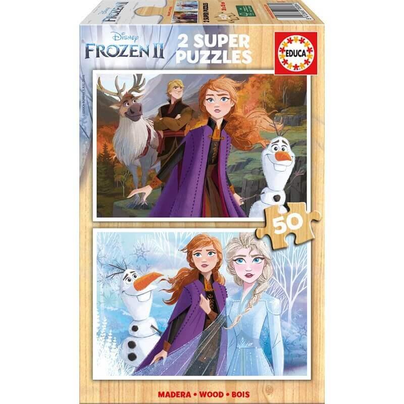 Puslespil Frozen 2