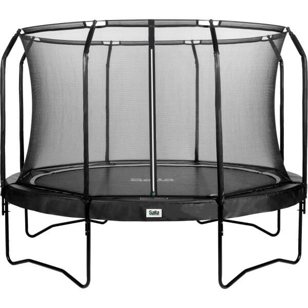 Salta trampolin med net