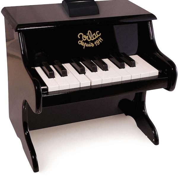 Vilac klaver i sort