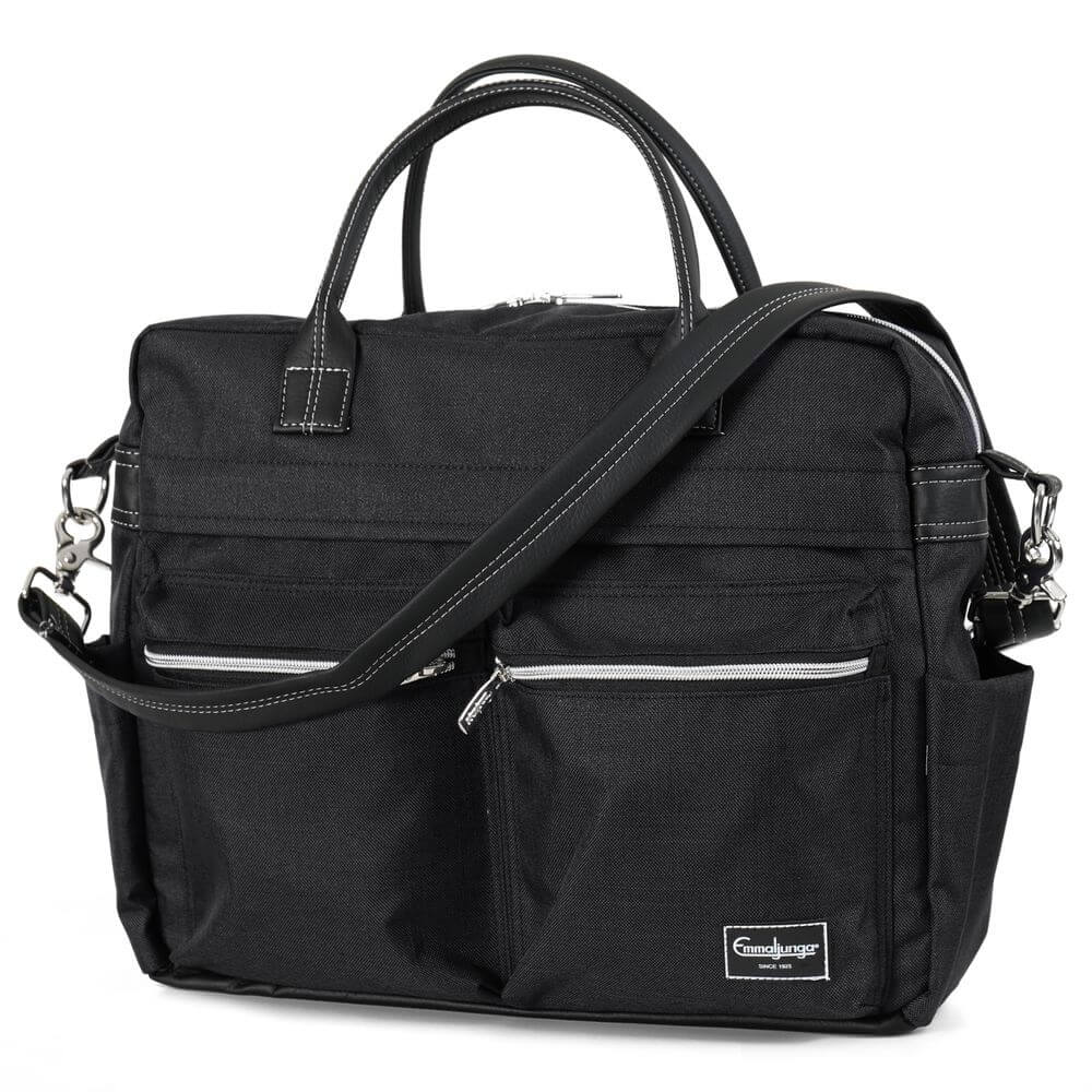 Emmaljunga Pusletaske Travel Lounge Black