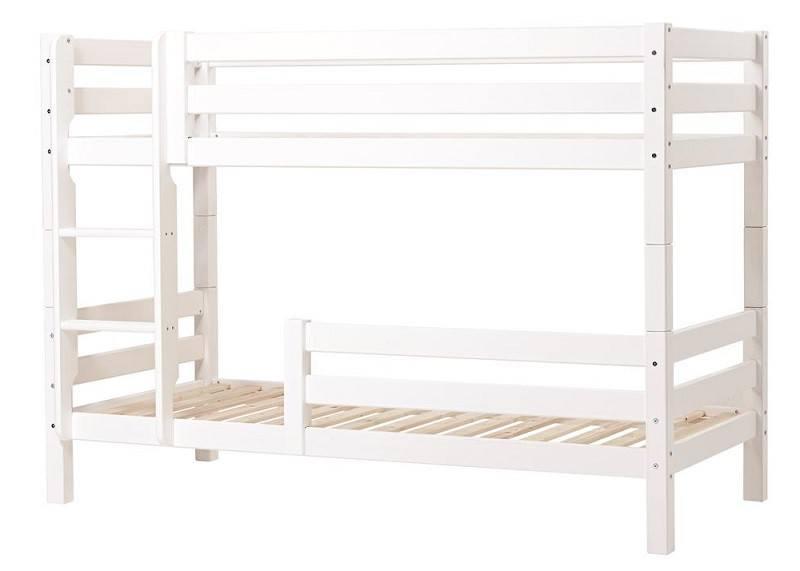 Hoppekids PREMIUM køjeseng med stige og ½ sengehest
