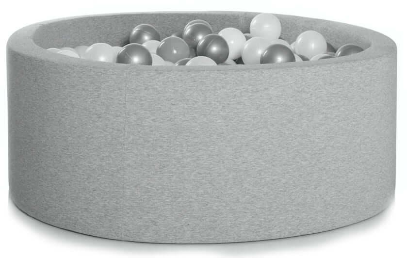 KIDKII Boldbassin 30x90 Rund Light Grey