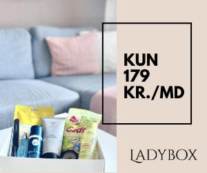 Ladybox: 20% rabatkode + Gratis fragt