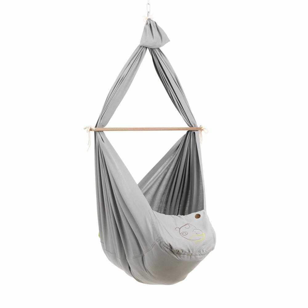 Nonomo babyhængekøje økologisk grå
