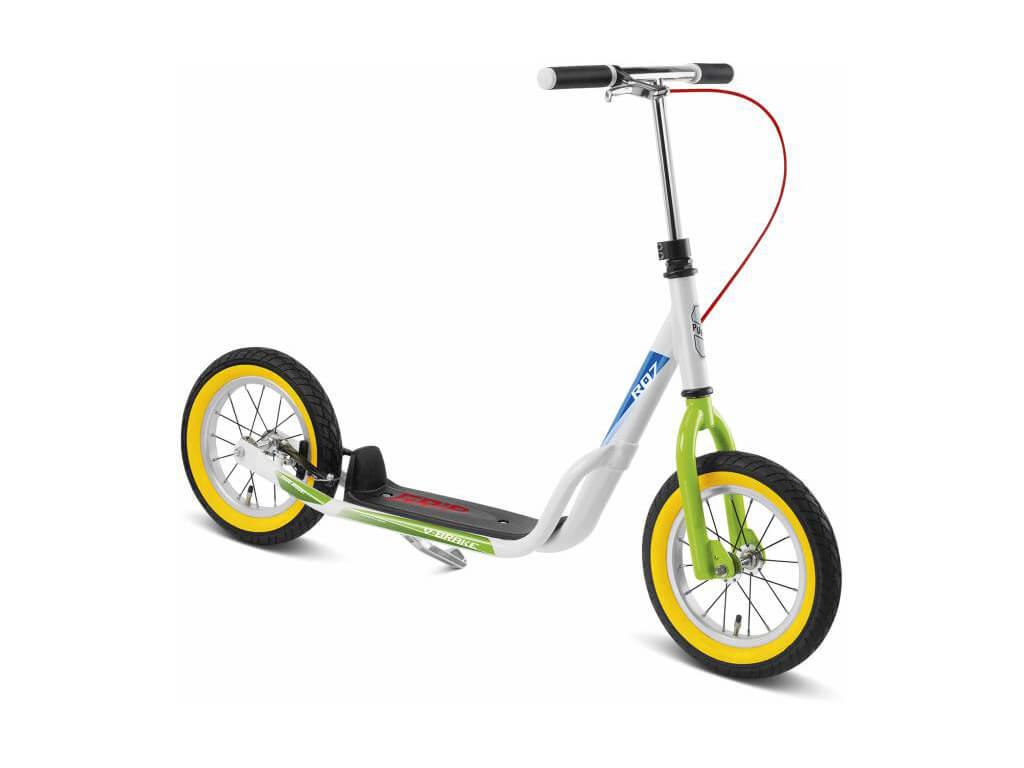 Puky R 07 L Løbehjul til børn fra 110 cm Hvid/grøn
