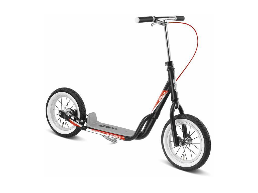 Puky R 07 L Løbehjul til børn fra 110 cm Sort