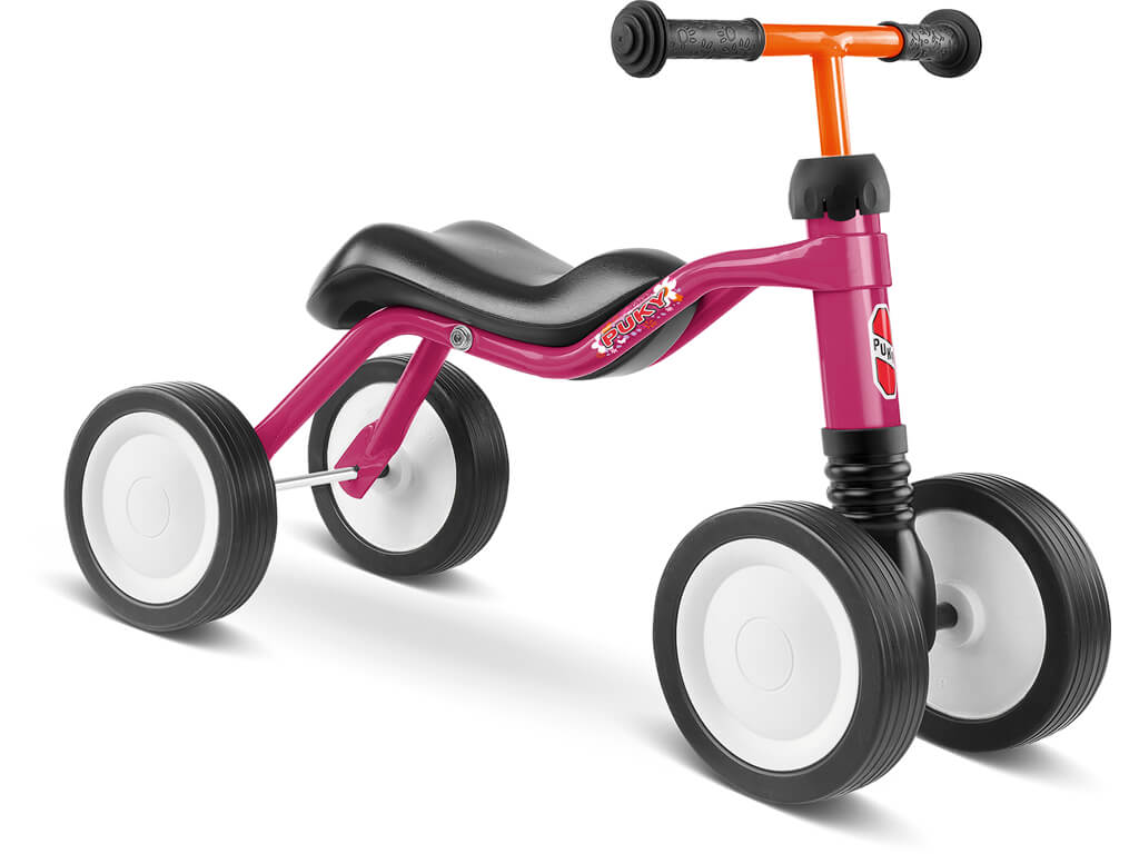 Puky Wutsch Løbecykel 80 cm Pink/Hindbærfarvet
