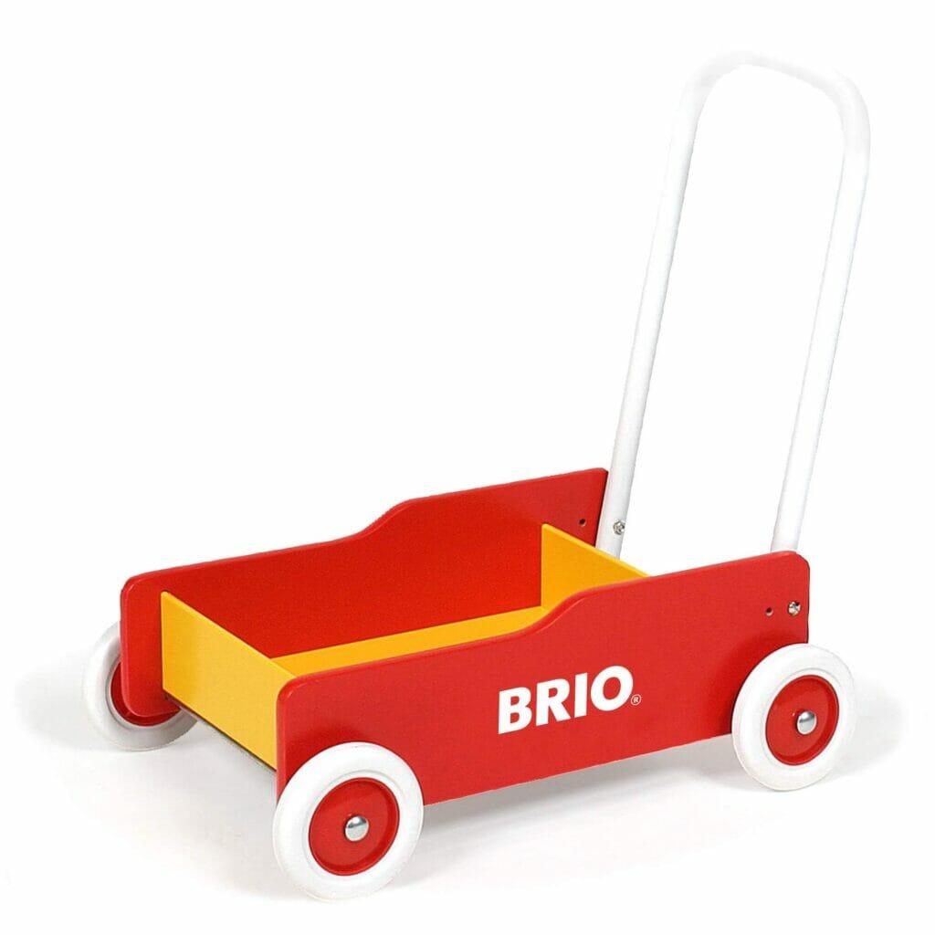 BRIO gåvogn i rød
