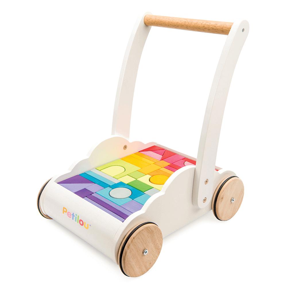 Le Toy Van Petilou Gåvogn med klodser