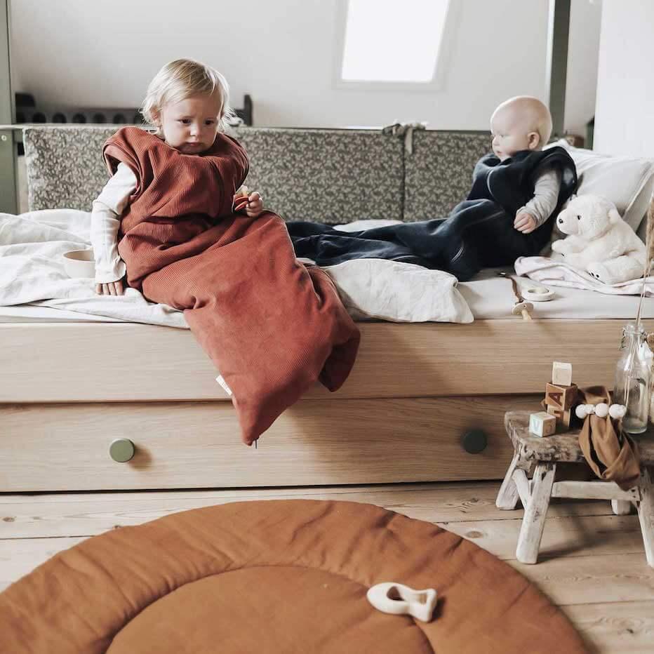 Sovepose til børn sommer