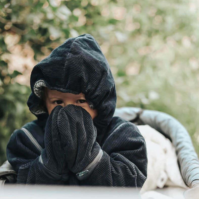 Sovepose til børn vinter