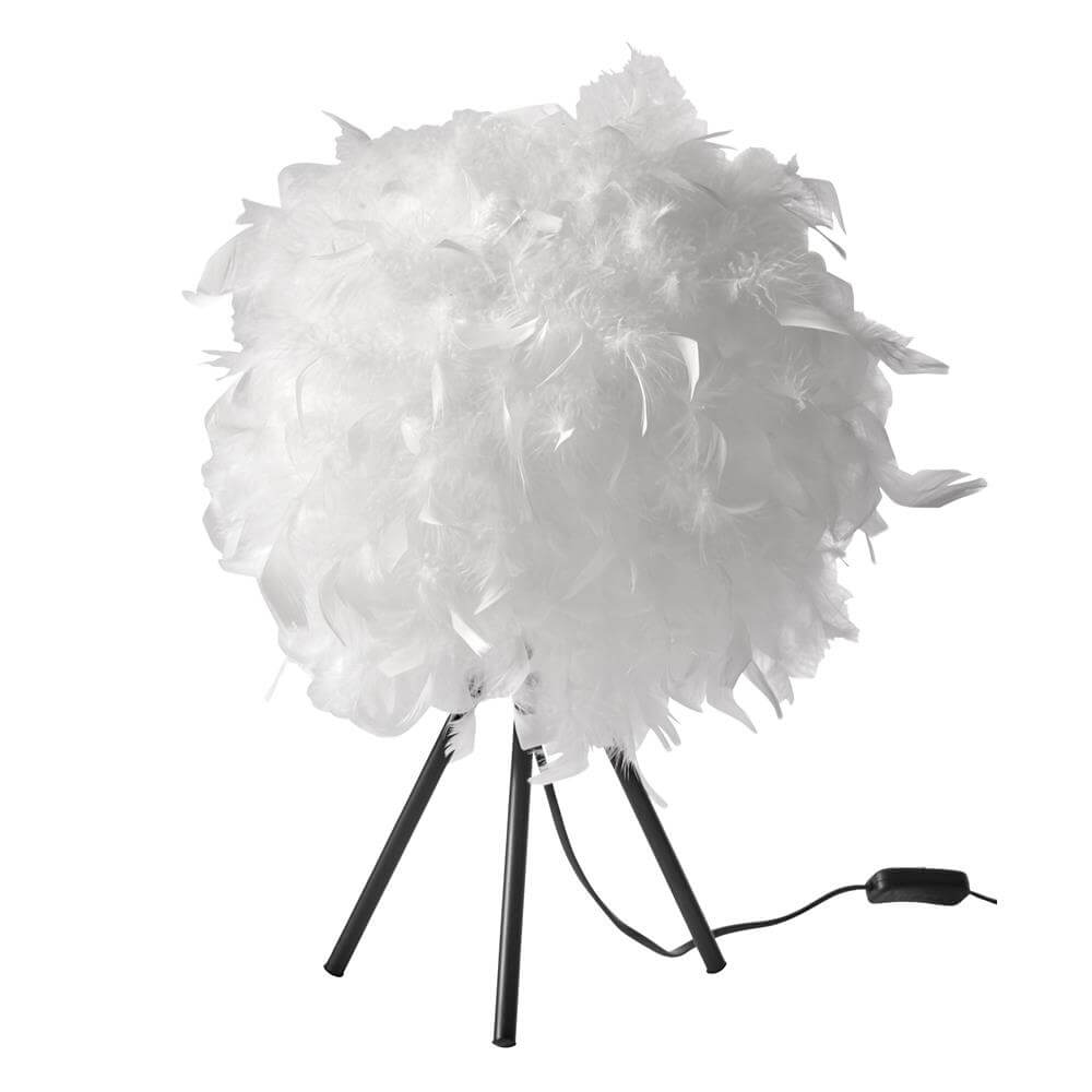 Fluffy Bordlampe 40 x 22 cm