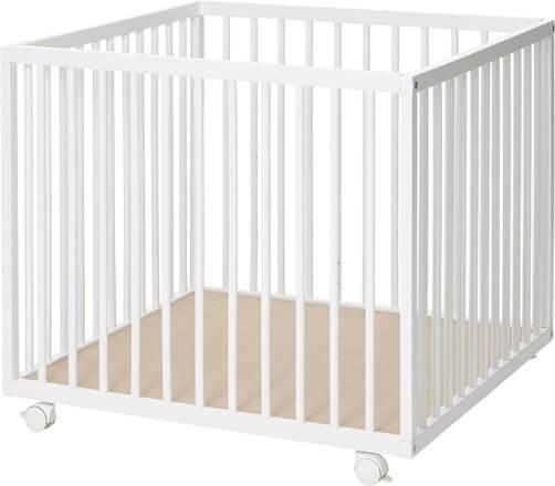 Baby Dan Comfort MINI Kravlegård Hvid