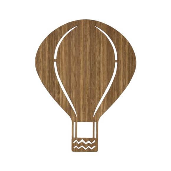 Ferm Living Air Balloon Lampe Røget Eg
