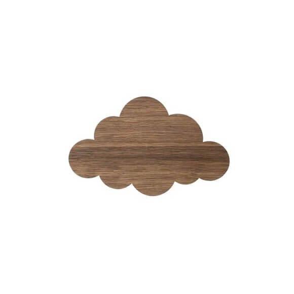 Ferm Living Cloud Lampe Røget Eg