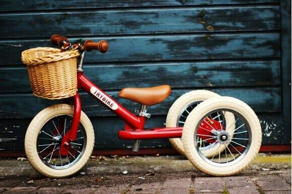 Trybike løbecykel på tilbud