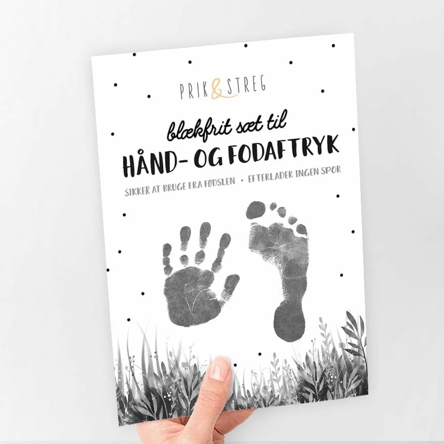 Babyaftryk babyshower gave