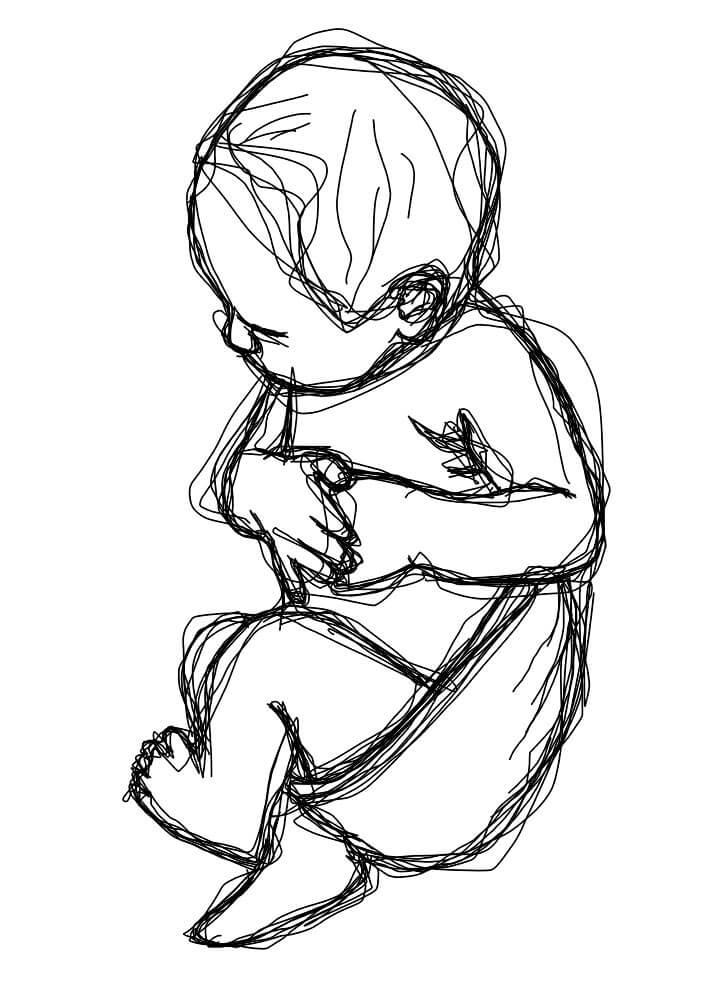 Posterbaby fødselsplakat